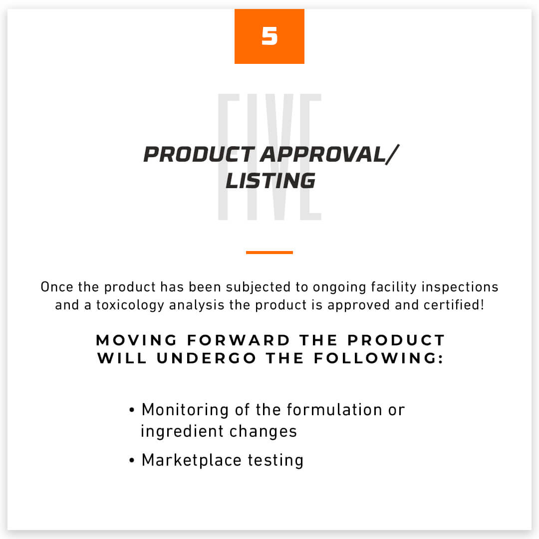 Product Approval/Listing