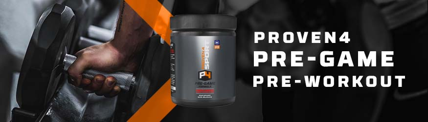 Cherry Limeade Pre-Game pre-workout formula from Proven4
